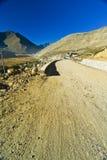 дорога гор Гималаев Стоковое Изображение RF