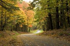 дорога гор осени Стоковое Изображение