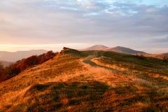 дорога гор осени Стоковое фото RF