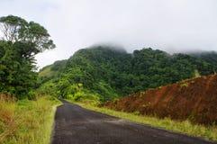 Дорога гор от Penville к Портсмуту Стоковые Изображения