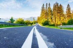 дорога гор сценарная Горный вид Стоковое фото RF