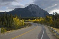 дорога гор сценарная Стоковые Изображения RF