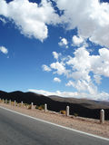 дорога гор Стоковое фото RF
