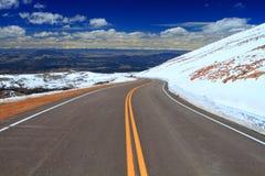 дорога гор Стоковые Изображения