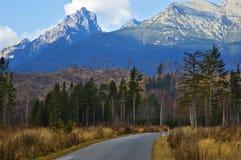 дорога гор стоковое фото