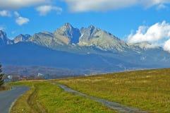 дорога гор стоковое изображение