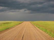 дорога гравия Стоковая Фотография RF