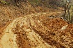 дорога грязи стоковая фотография rf