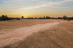 Дорога грязь Стоковые Фотографии RF