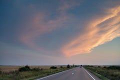 Дорога лета Стоковые Изображения