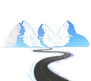 Дорога замотки Стоковая Фотография RF