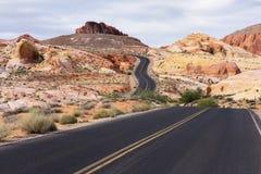 Дорога замотки Стоковое фото RF