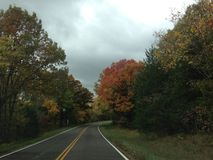 Дорога задней части Миссури Стоковые Изображения