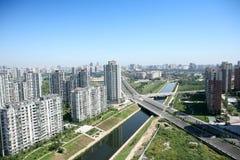 дорога зданий Стоковые Фотографии RF