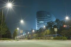 дорога здания Стоковые Изображения RF