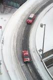 Дорога зимы Монреаля стоковые изображения