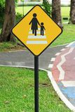 Дорога знака уличного движения Стоковая Фотография RF