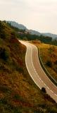 дорога Испания двухсторонняя стоковое фото rf