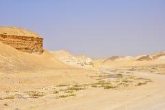 Дорога исчезая в пустыню Стоковое Изображение