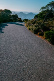 Дорога и гора Стоковая Фотография RF