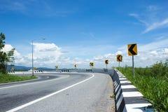Дорога и путь Стоковое Изображение RF