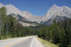 дорога Канады Стоковые Изображения