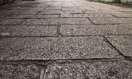 Дорога кирпича Стоковая Фотография