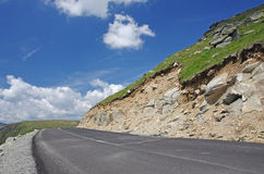 дорога конструкции Стоковое Фото