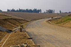 дорога конструкции Стоковые Фотографии RF