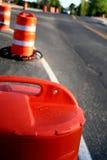 дорога конструкции Стоковая Фотография RF