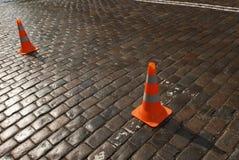 дорога конуса Стоковые Изображения RF