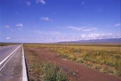 дорога конца к Стоковые Фотографии RF