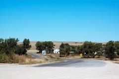 дорога конца Стоковое Изображение RF