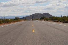 дорога конца Стоковые Изображения RF