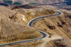 дорога королей Иордана Стоковое Изображение