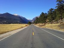 Дорога Колорадо Стоковое Фото