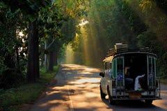 Дорога красоты Стоковая Фотография