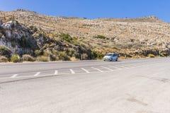 Дорога Крита Стоковое Изображение RF
