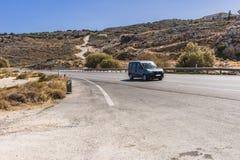 Дорога Крита Стоковая Фотография RF