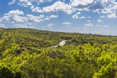 Дорога Крита Стоковое Фото