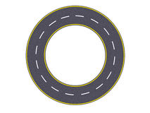 дорога круглая Стоковое фото RF