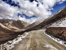 Дорога к большим высотам Стоковые Фотографии RF