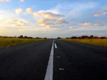 Дорога к голубому небу Стоковое фото RF