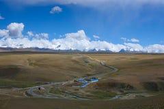 Дорога к горам Стоковое Фото
