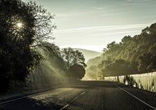 Дорога к где-то Стоковое фото RF