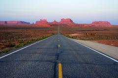 Дорога к долине памятника Стоковые Фотографии RF