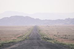 Дорога к каньонам каньон стоковая фотография rf