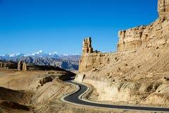 Дорога к каньону Стоковое фото RF