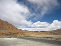 Дорога к Ла Shangri Стоковое фото RF