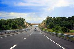 Дорога к Маниле через SCTEX Стоковые Изображения RF